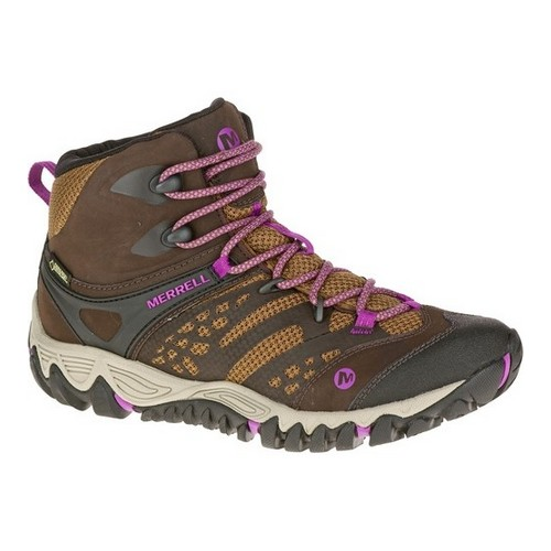 All Out Blaze Vent Mid GTX, Dark Brown
